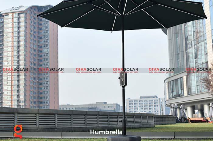 Dù năng lượng mặt trời Humbrella 3