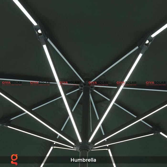 Dù năng lượng mặt trời Humbrella 6