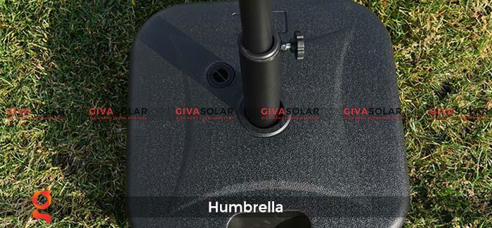 Dù năng lượng mặt trời Humbrella 9