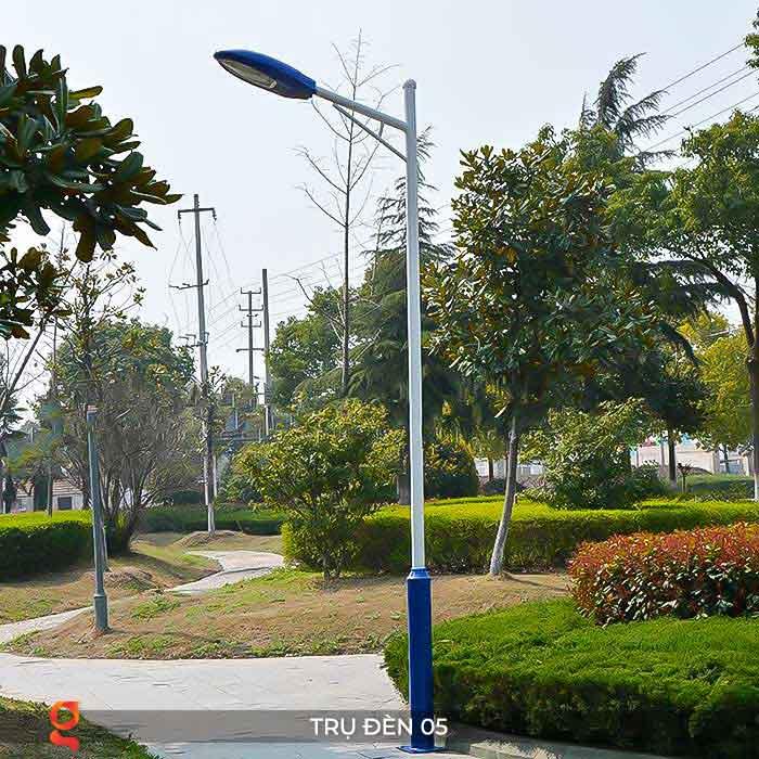 Mẫu trụ đèn đường năng lượng mặt trời P05 1