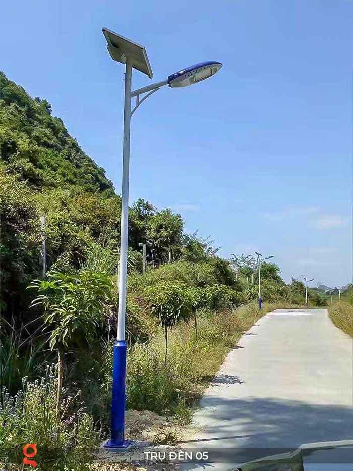 Mẫu trụ đèn đường năng lượng mặt trời P05 2