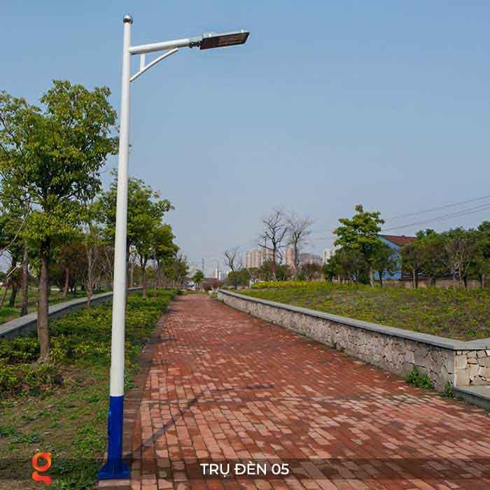 Mẫu trụ đèn đường năng lượng mặt trời P05 3