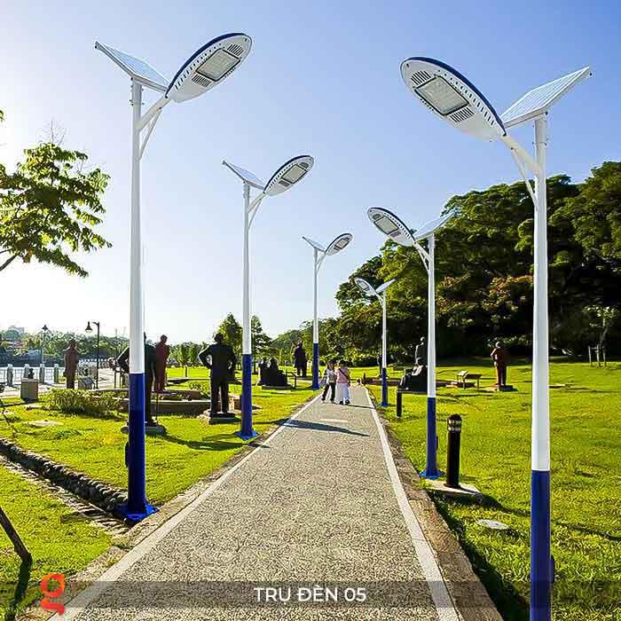 Mẫu trụ đèn đường năng lượng mặt trời P05 4