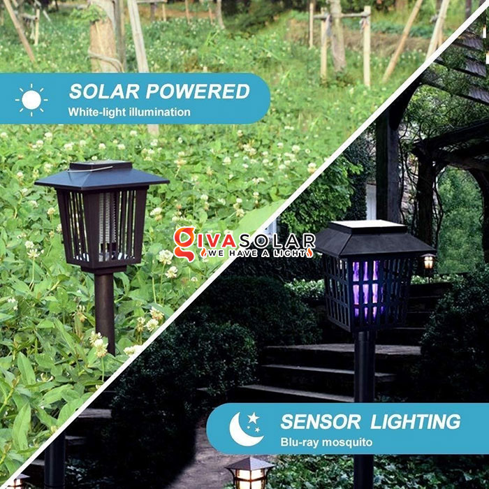 Đèn diệt côn trùng năng lượng mặt trời có giá bao nhiêu 1