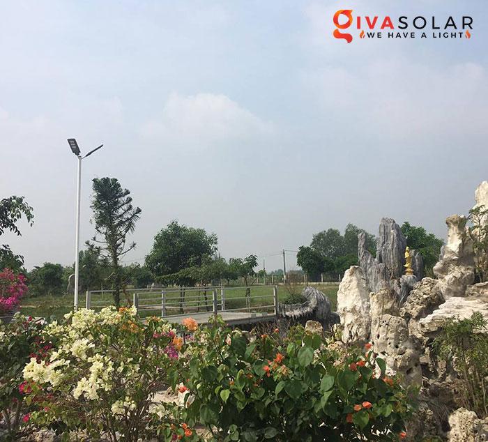 Dự án lắp đặt hệ thống đèn đường Solar ở Chùa Đồng Nai 5