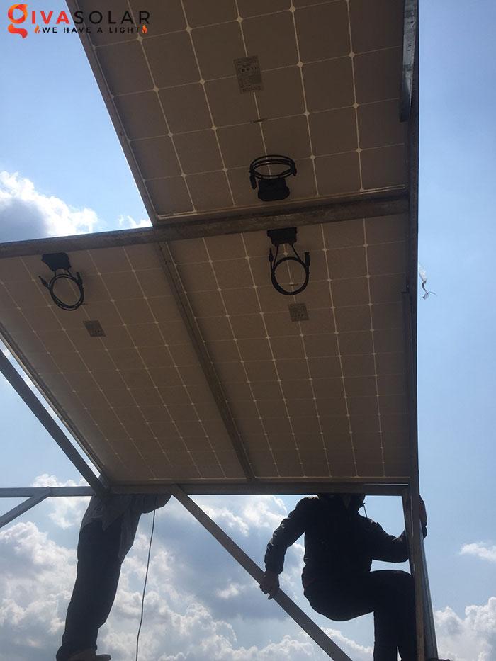 Dự án lắp đặt hệ thống 5KW ở Bình Phước 3