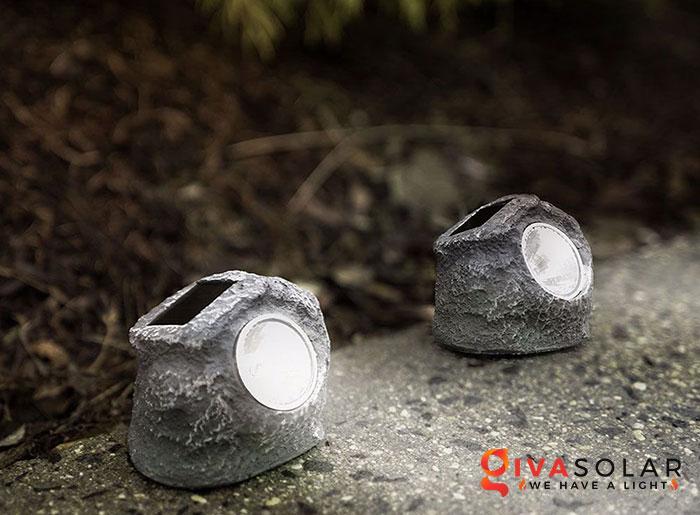 đèn bọc đá năng lượng mặt trời