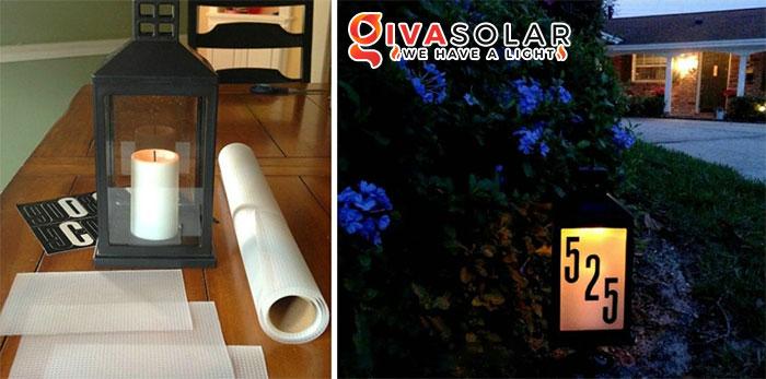 ý tưởng trang trí ngoài trời độc đáo với đèn năng lượng mặt trời 10