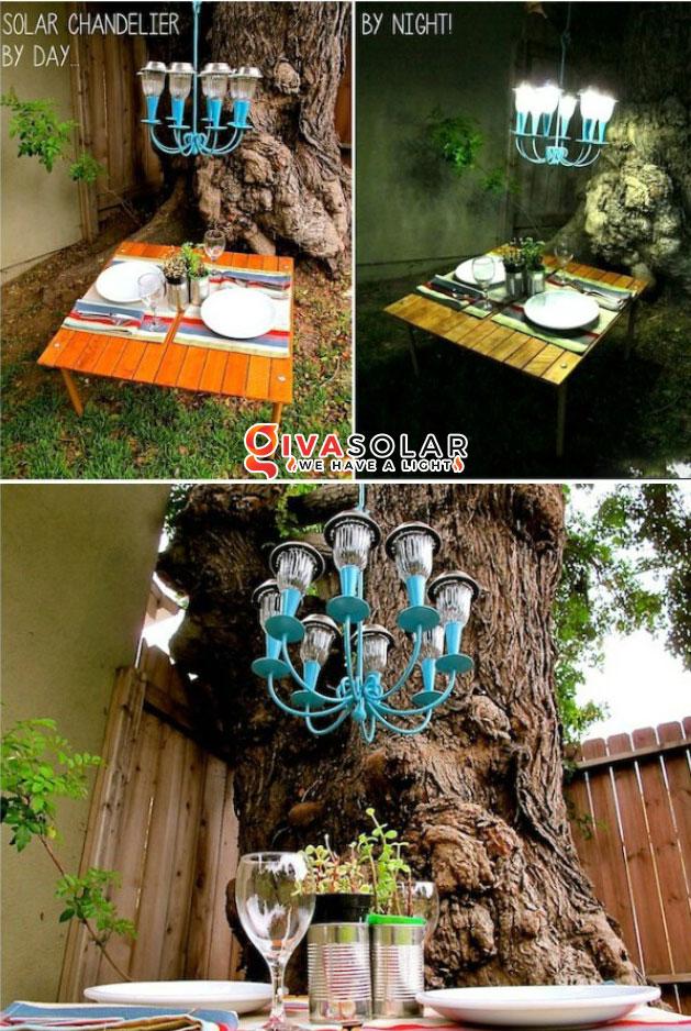 ý tưởng trang trí ngoài trời độc đáo với đèn năng lượng mặt trời 11