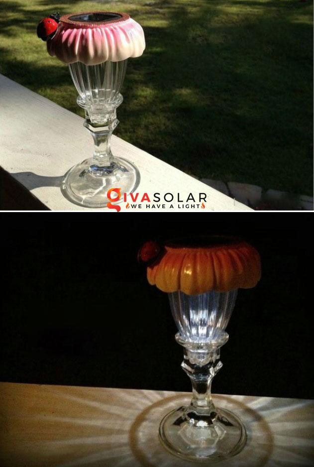 ý tưởng trang trí ngoài trời độc đáo với đèn năng lượng mặt trời 12