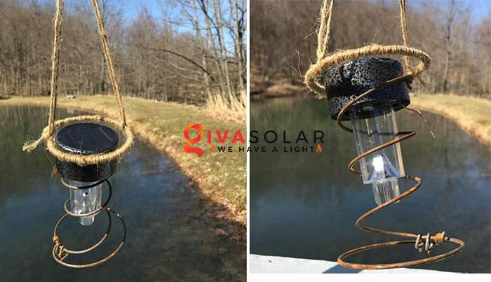 ý tưởng trang trí ngoài trời độc đáo với đèn năng lượng mặt trời 14