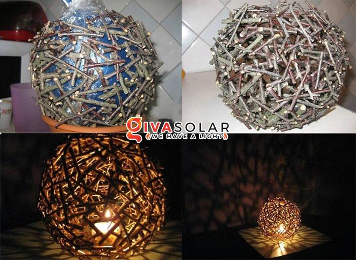 ý tưởng trang trí ngoài trời độc đáo với đèn năng lượng mặt trời 2