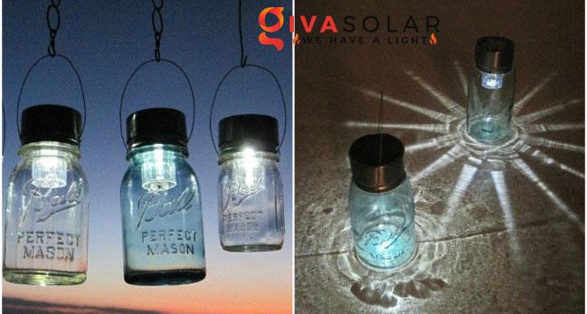 ý tưởng trang trí ngoài trời độc đáo với đèn năng lượng mặt trời 8