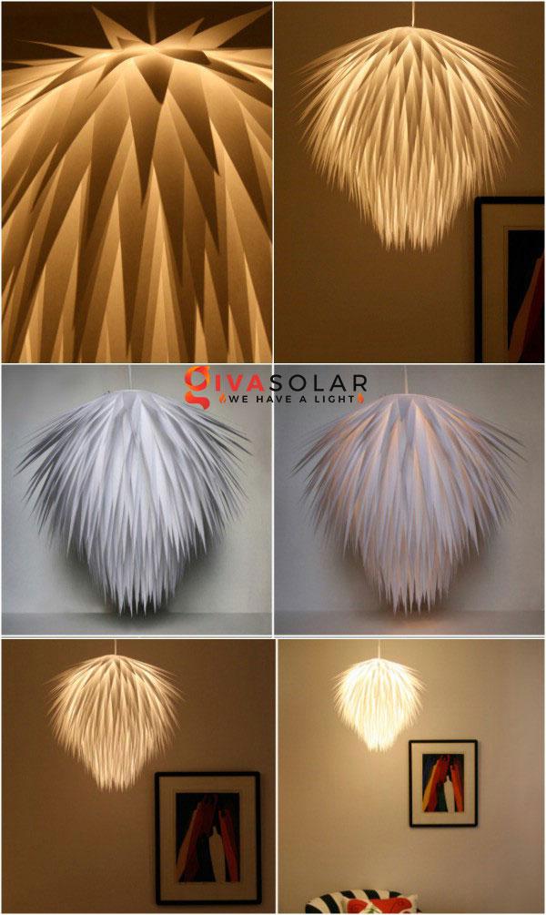 Cách làm đèn chùm trang trí độc đáo nhất 3