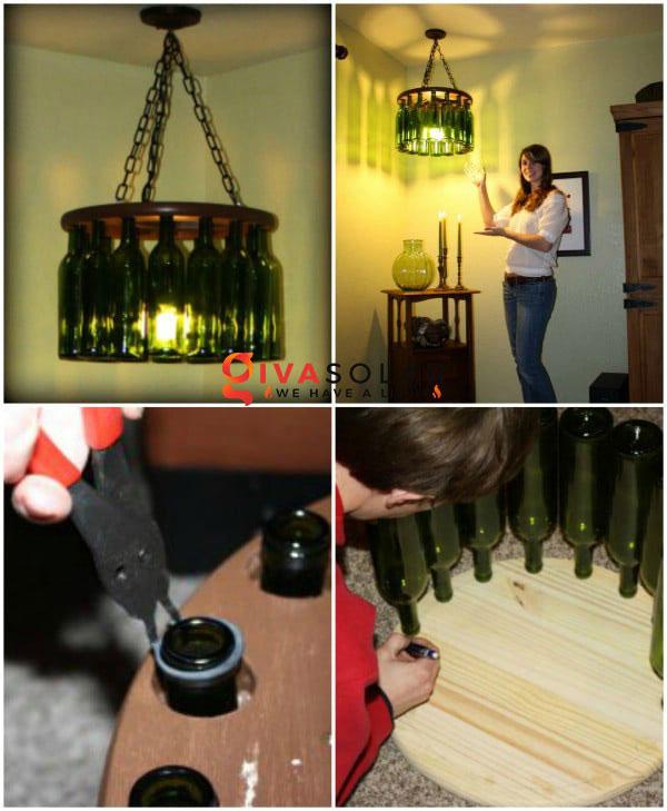 Cách làm đèn chùm trang trí độc đáo nhất 8