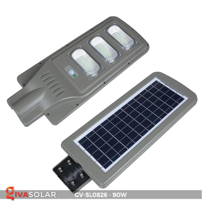 Đèn chiếu sáng đường năng lượng mặt trời GV-SL0826 3