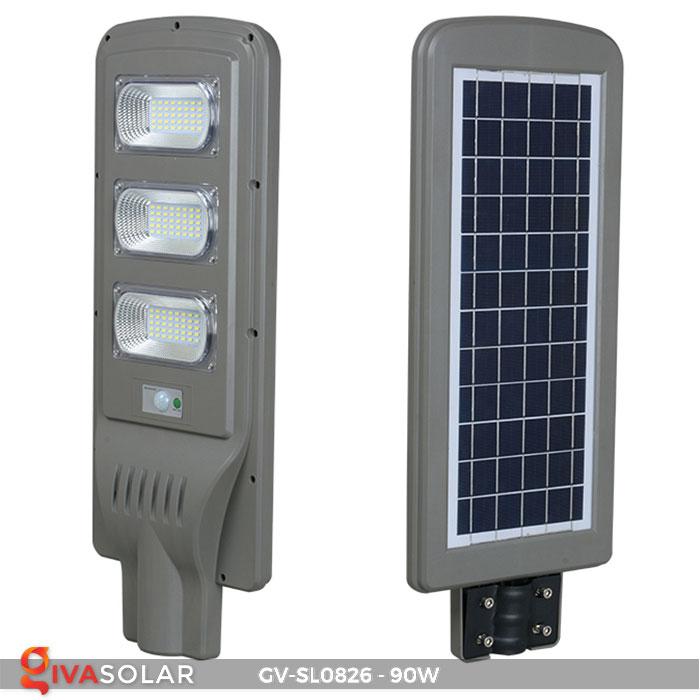 Đèn chiếu sáng đường năng lượng mặt trời GV-SL0826 4