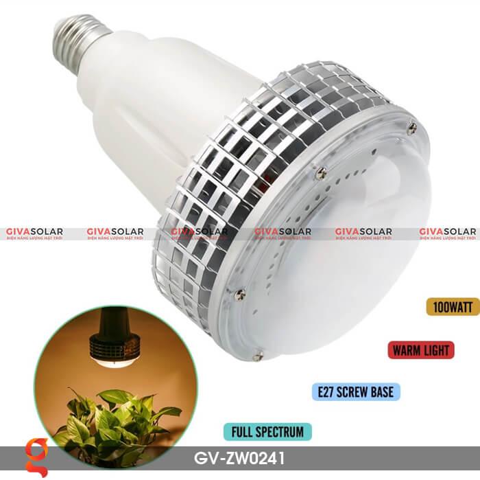 Đèn Led trồng cây quang phổ ấm GV-ZW0241 5