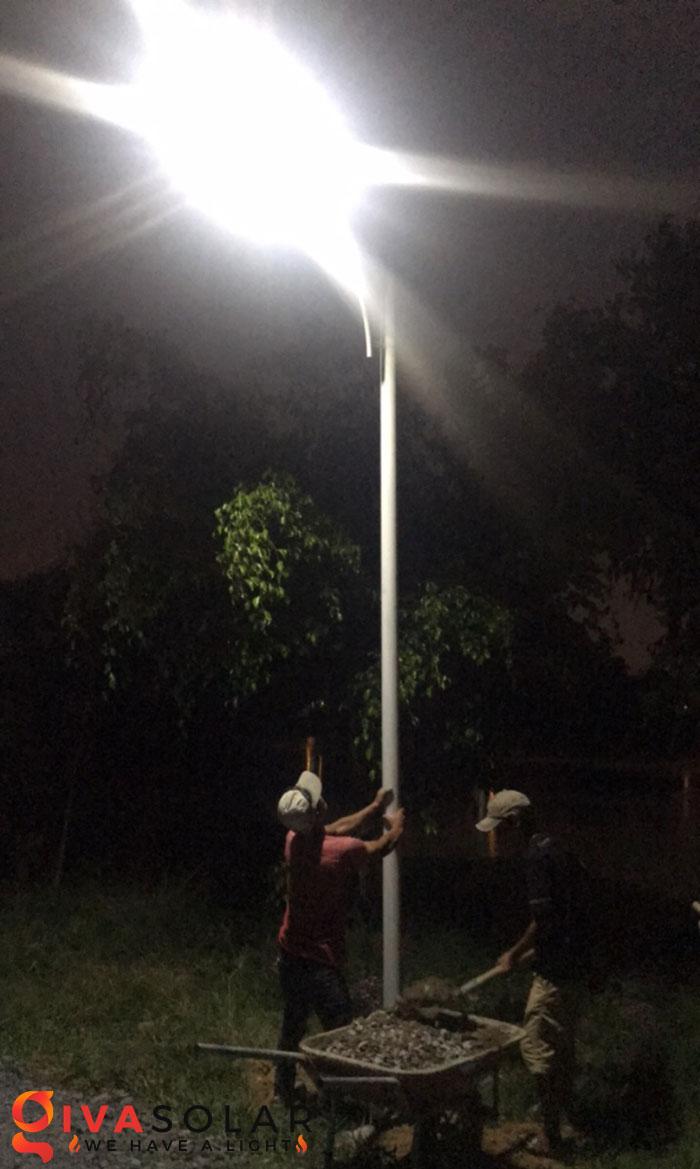 hệ thống lắp đặt đèn mặt trời tại Bửu Lộc - đồng nai 10