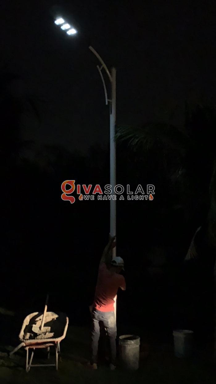 hệ thống lắp đặt đèn mặt trời tại Bửu Lộc - đồng nai 11