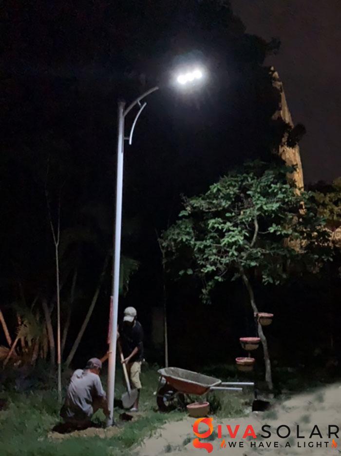 hệ thống lắp đặt đèn mặt trời tại Bửu Lộc - đồng nai 12
