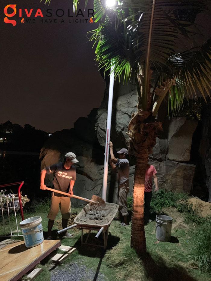 hệ thống lắp đặt đèn mặt trời tại Bửu Lộc - đồng nai 8