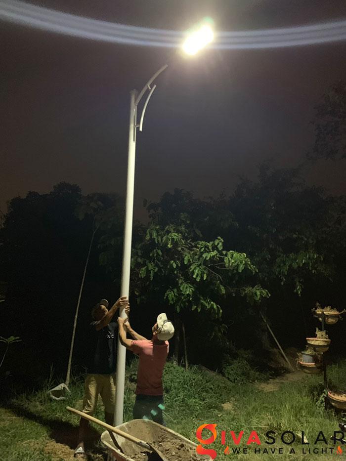 hệ thống lắp đặt đèn mặt trời tại Bửu Lộc - đồng nai 9