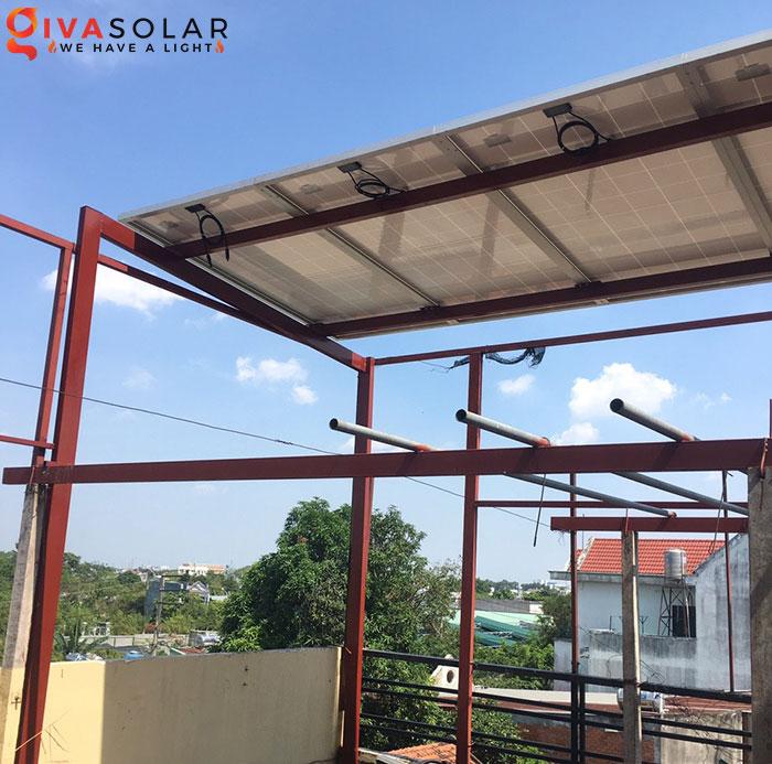 Lắp đặt hệ thống điện mặt trời 2KW ở Hóc Môn 2