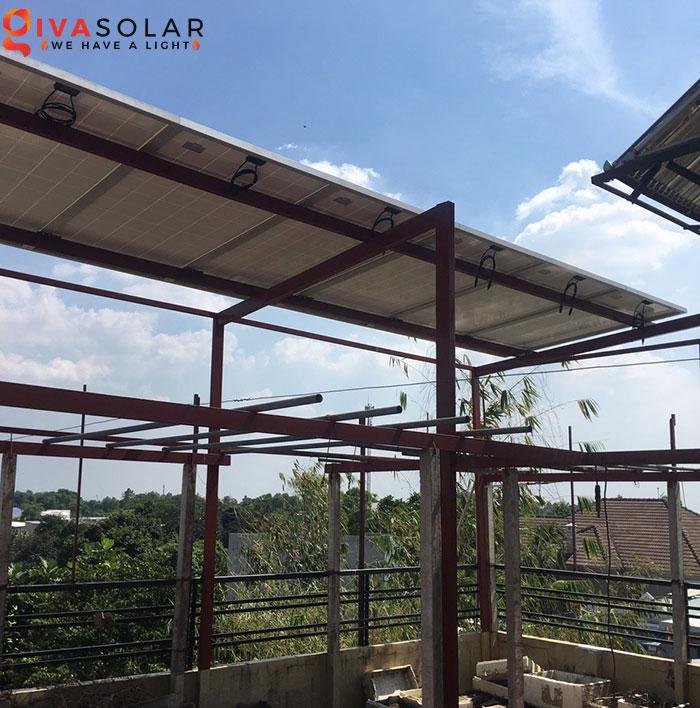 Lắp đặt hệ thống điện mặt trời 2KW ở Hóc Môn 3