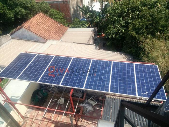 Lắp đặt hệ thống điện mặt trời 2KW ở Hóc Môn 4