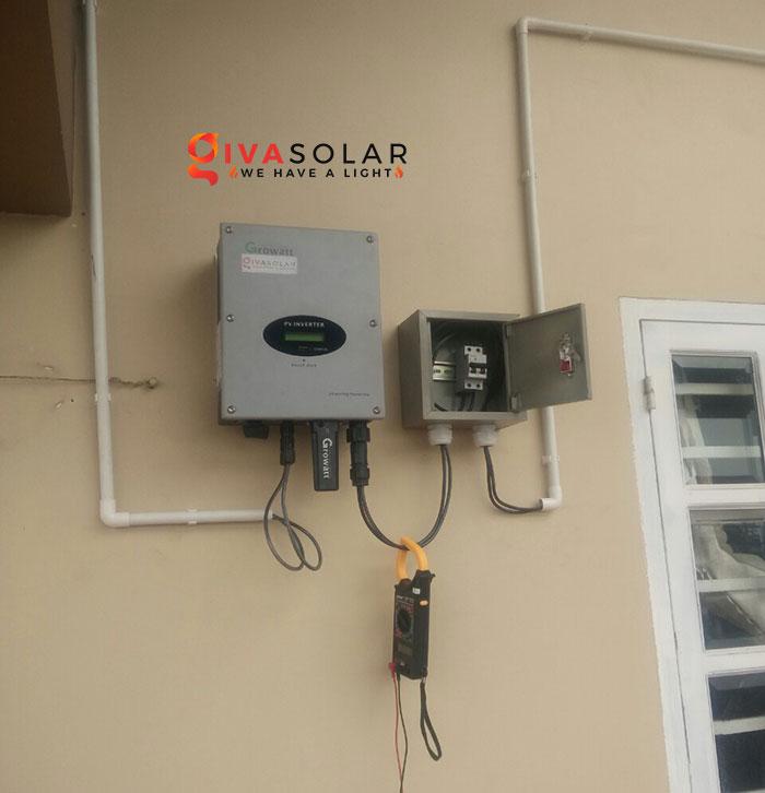 Lắp đặt hệ thống điện mặt trời 2KW ở Hóc Môn 5