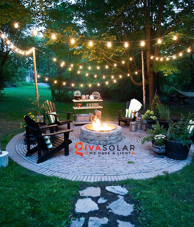 ý tưởng chiếu sáng sân vườn đẹp cho ngôi nhà của bạn 1