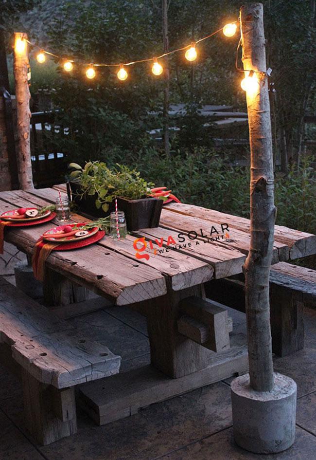 ý tưởng chiếu sáng sân vườn đẹp cho ngôi nhà của bạn 14