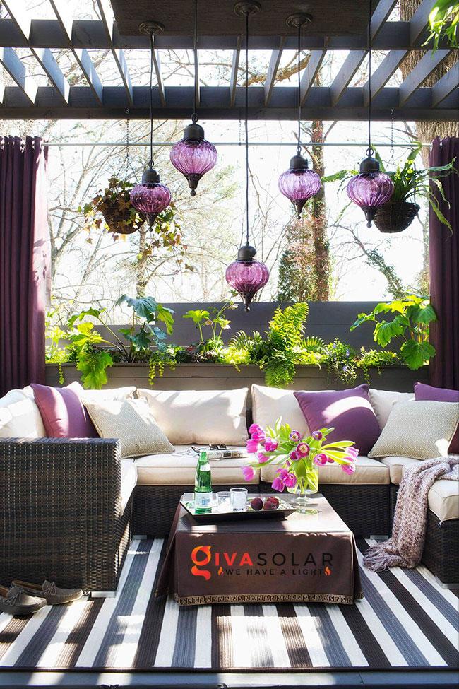 ý tưởng chiếu sáng sân vườn đẹp cho ngôi nhà của bạn 15
