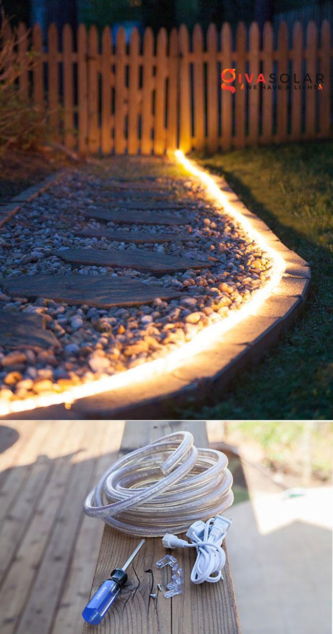 ý tưởng chiếu sáng sân vườn đẹp cho ngôi nhà của bạn 16