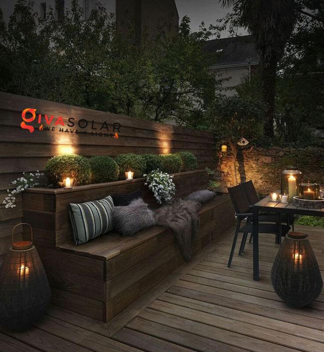 ý tưởng chiếu sáng sân vườn đẹp cho ngôi nhà của bạn 17