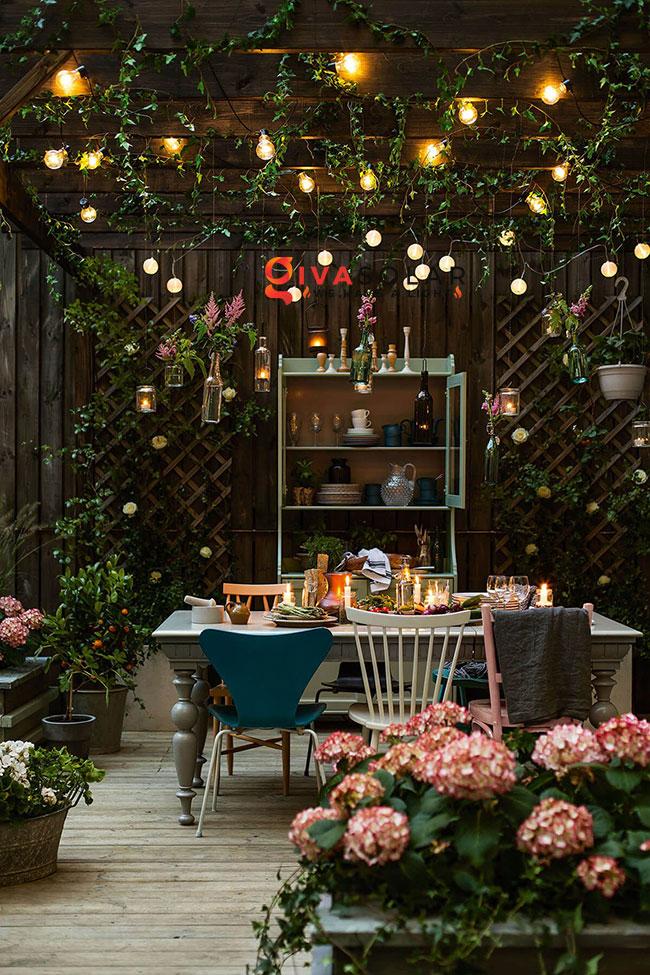 ý tưởng chiếu sáng sân vườn đẹp cho ngôi nhà của bạn 19