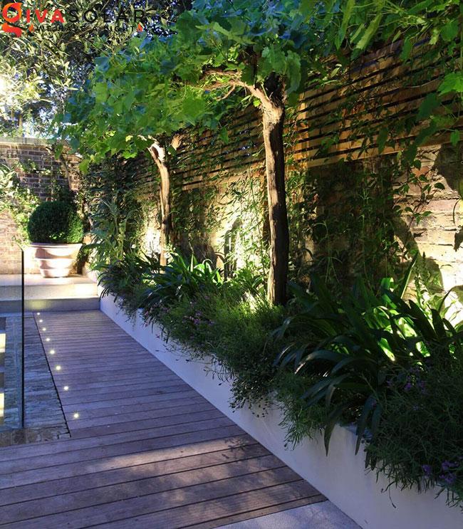 ý tưởng chiếu sáng sân vườn đẹp cho ngôi nhà của bạn 23