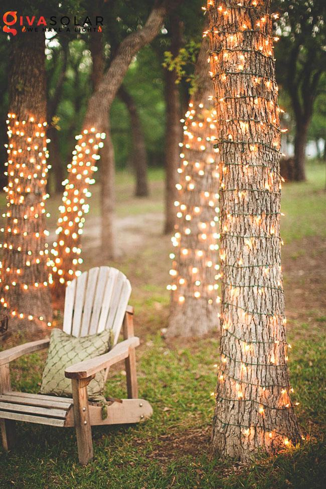 ý tưởng chiếu sáng sân vườn đẹp cho ngôi nhà của bạn 25