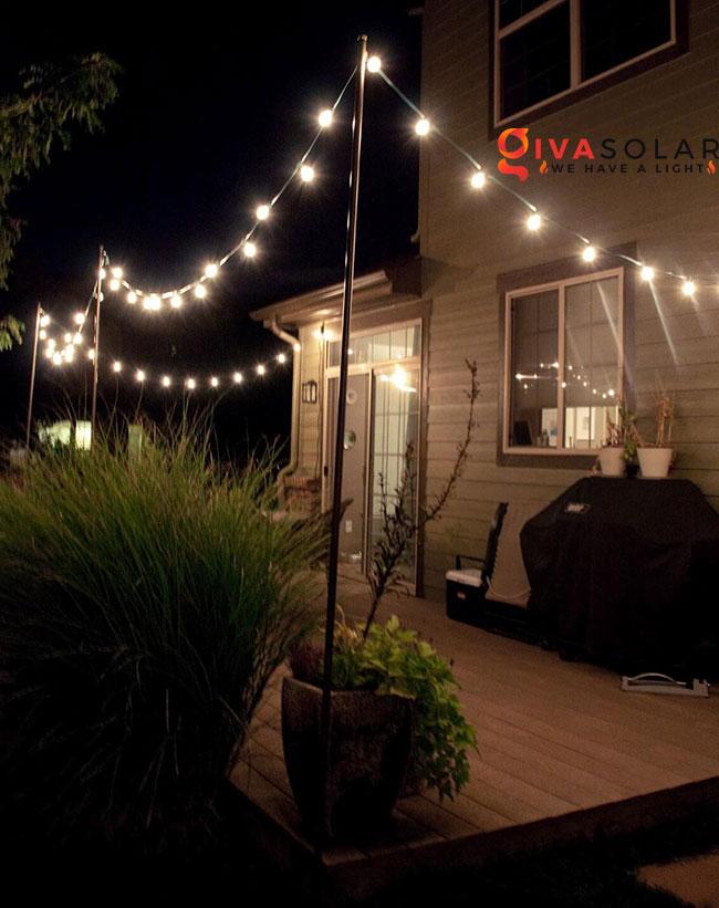 ý tưởng chiếu sáng sân vườn đẹp cho ngôi nhà của bạn 26