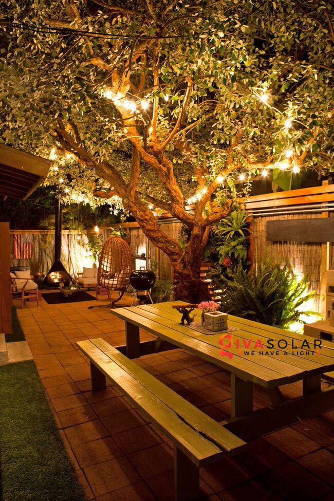 ý tưởng chiếu sáng sân vườn đẹp cho ngôi nhà của bạn 5