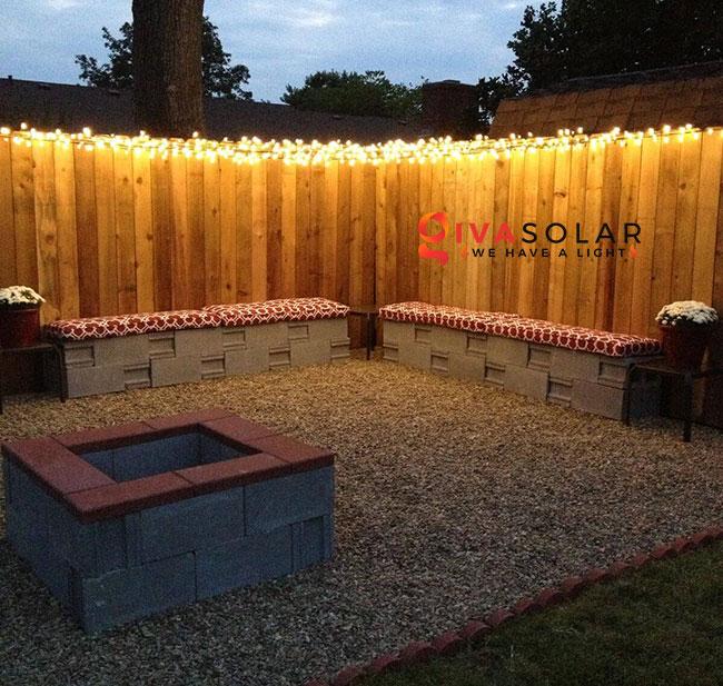 ý tưởng chiếu sáng sân vườn đẹp cho ngôi nhà của bạn 8