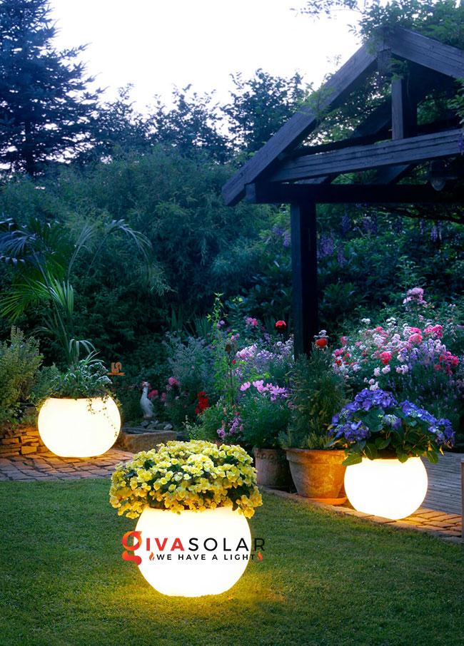 ý tưởng chiếu sáng sân vườn đẹp cho ngôi nhà của bạn 9