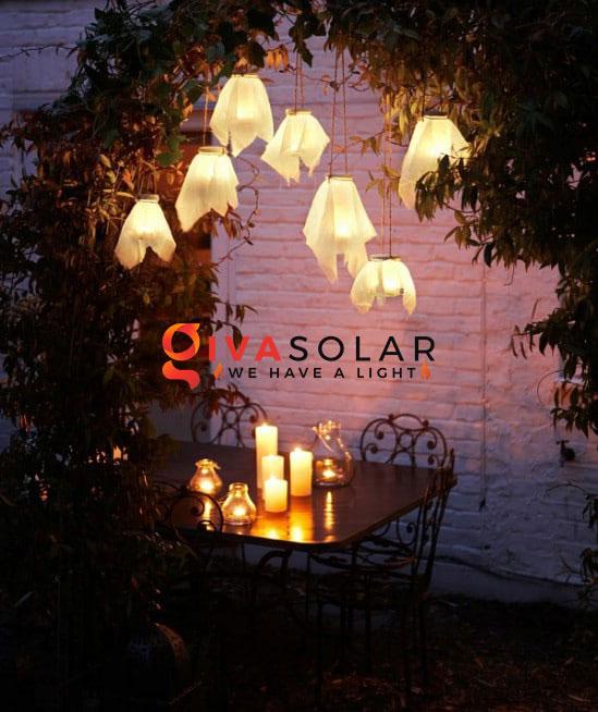 ý tưởng làm đèn trang trí sân vườn để chiếu sáng ngoài trời 12