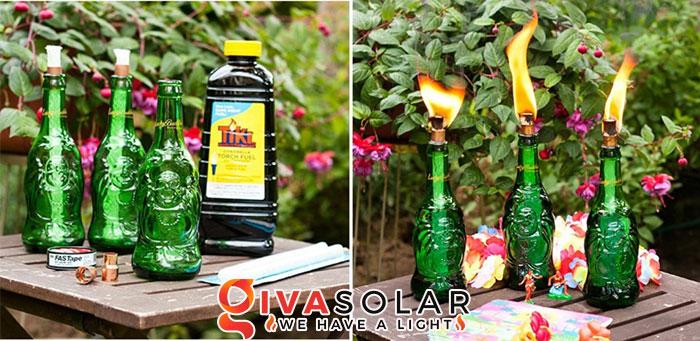 ý tưởng làm đèn trang trí sân vườn để chiếu sáng ngoài trời 13