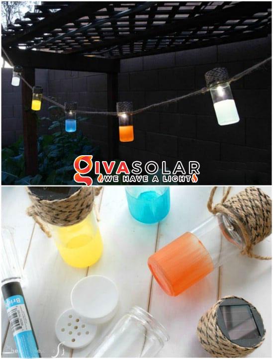 ý tưởng làm đèn trang trí sân vườn để chiếu sáng ngoài trời 14