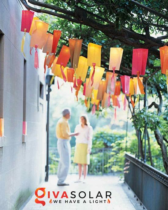 ý tưởng làm đèn trang trí sân vườn để chiếu sáng ngoài trời 17
