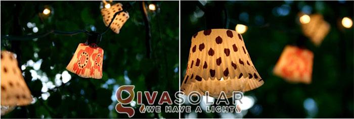 ý tưởng làm đèn trang trí sân vườn để chiếu sáng ngoài trời 2