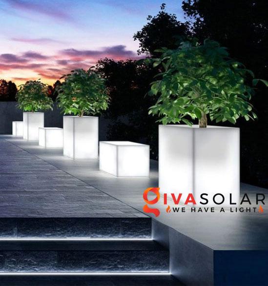 ý tưởng làm đèn trang trí sân vườn để chiếu sáng ngoài trời 4