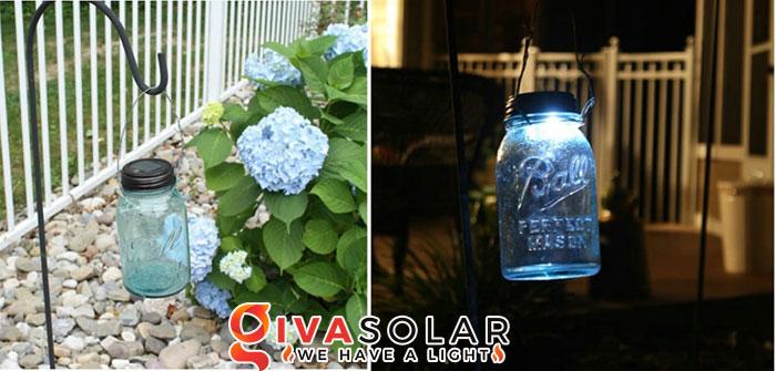 ý tưởng làm đèn trang trí sân vườn để chiếu sáng ngoài trời 8